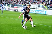 VOETBAL: HEERENVEEN: Abe Lenstra Stadion, SC Heerenveen - Vitesse, 21-01-2012, Guram Kashia (#37), Bas Dost (#12), Eindstand 1-1, ©foto Martin de Jong