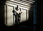 10.12.12 Oak Room Crucifix 3.JPG by Matt Cashore/University of Notre Dame