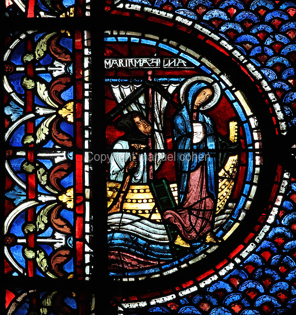 Mary arriving in Marseilles, Life of Mary Magdalene ...