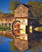 The Old Mill at Pigeon Forge on the Pigeon River, Near Great Smoky Mountains National Park, Tennessee