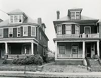 1968  May  15..Ghent      ..East Ghent North R-55.N side of Princess Anne Road between Movan(?) & Debree Avenues.Houses 352, 354..Sam McKay.NEG# SLM68-39-54..
