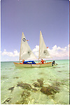 Brian Kronemeyer runs Exuma Expeditions in the Bahamas. During his excursions you will snorkel, sail your own boat, camp, fish and anything else your heart desires.The Exuma's are a chain of low laying islands that are perfect for sailing the 20 foot twin masted boat...