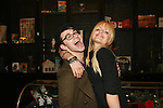 Designer Christian Siriano and Actress Mena Suvari After Having Dinner at the Exclusive Beauty & Essex, 2/13/11