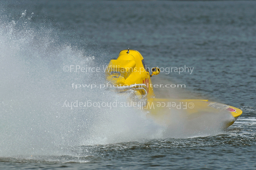 "Thom Heins, NM-30 ""Pennzoil Big Bird"" (National Mod hydroplane(s)"