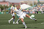 25 April 2009: Martina Franko (19) of the Los Angeles Sol.  Saint Louis Athletica tied the visiting Los Angeles Sol 0-0  in a regular season Women's Professional Soccer game at Robert R. Hermann Stadium at St. Louis University, St. Louis, Missouri.