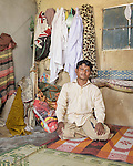 Mohammad Rafiq - a garment factory worker from Karachi.