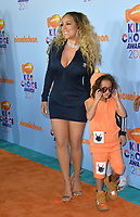 Singer Mariah Carey at the Nickelodeon 2017 Kids' Choice Awards at the USC's Galen Centre, Los Angeles, USA 11 March  2017<br /> Picture: Paul Smith/Featureflash/SilverHub 0208 004 5359 sales@silverhubmedia.com