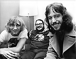 James Gang 1970 Joe Walsh, Jim Fox and Dale Peters<br /> &copy; Chris Walter