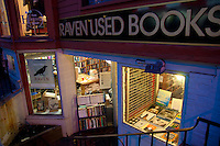 Raven used books bookshop in Harvard, Boston