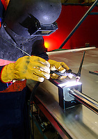 Stainless steel welding. <br />