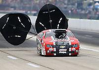 Apr 26, 2015; Baytown, TX, USA; NHRA pro mod driver Mike Janis during the Spring Nationals at Royal Purple Raceway. Mandatory Credit: Mark J. Rebilas-