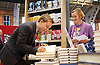 Labour Party Conference<br /> at Manchester Central, Manchester, Great Britain <br /> 24th September 2014 <br /> <br /> Owen Jones Book Signing <br /> The Establishment: And how they get away with it <br /> <br /> <br /> Photograph by Elliott Franks <br /> Image licensed to Elliott Franks Photography Services