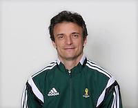 FUSSBALL Fototermin FIFA WM Schiedsrichterassistenten 09.04.2014 Andrea STEFANI (Italien)