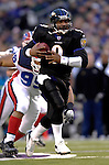 31 December 2006: Baltimore Ravens quarterback Steve McNair (9) in action during a game against the Buffalo Bills at M&amp;T Bank Stadium in Baltimore, Maryland. The Ravens defeated the Bills 19-7. Mandatory Photo Credit: Ed Wolfstein Photo.<br />