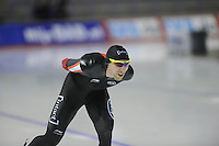 SPEEDSKATING: CALGARY: 13-11-2015, Olympic Oval, ISU World Cup, 5000m, Ted-Jan Bloemen (CAN), ©foto Martin de Jong