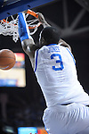UK's Terrence Jones dunks during the first half of the University of Kentucky Men's basketball game against Tennessee at Rupp Arena in Lexington, Ky., on 2/8/11. Uk led at half 35-28. Photo by Mike Weaver | Staff