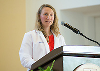 Christa Zehle, M.D. Class of 2016 White Coat Ceremony.