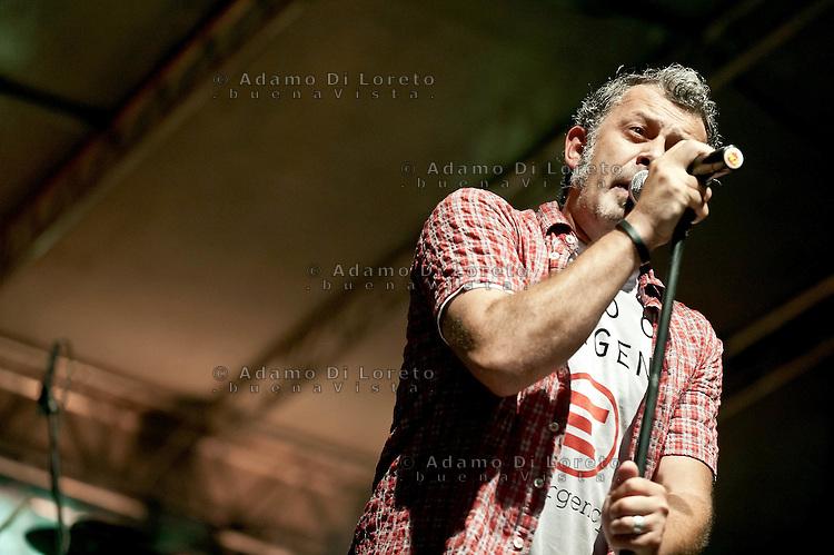TERAMO 13/07/2011: CONCERTO LIVE DEI MODENA CITY RUMBLERS.  FOTO ADAMO DI LORETO