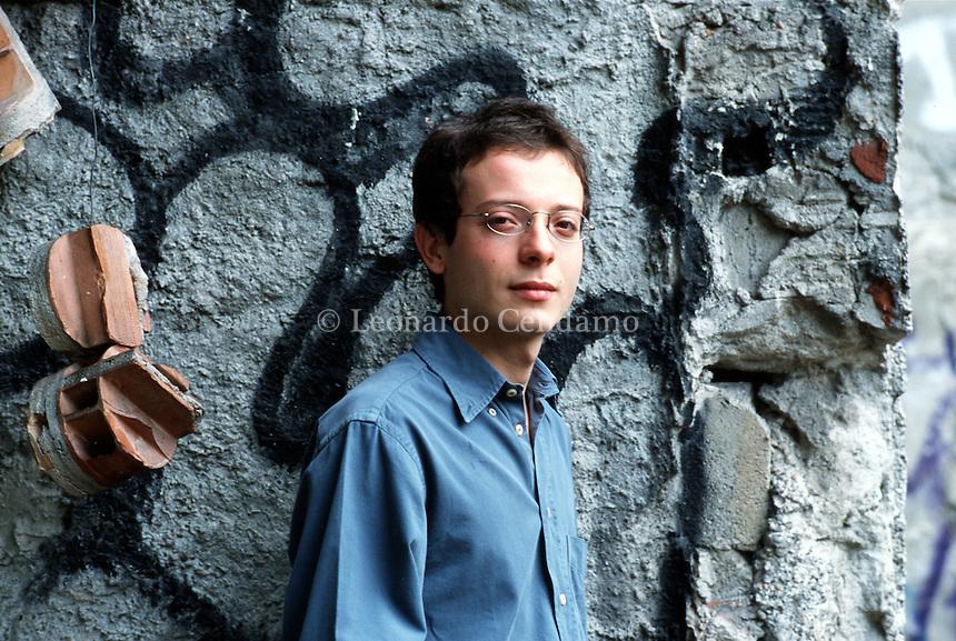 2001: ALBERTO PELLEGATTA, WRITER  © Leonardo Cendamo