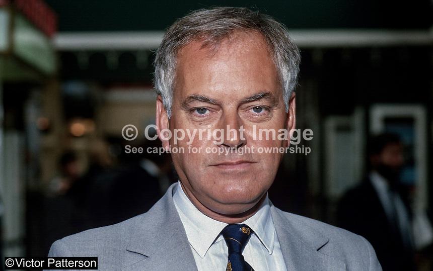 Richard Alexander, MP, Conservative Party, UK, 19871020RA..Copyright Image from - Alexander-Richard-19871020RA