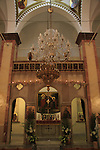 Israel, Lower Galilee, the Greek Catholic Synagoge Church in Nazareth