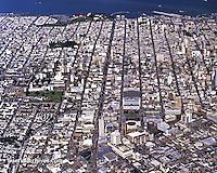 aerial photograph Van Ness Street San Francisco, California