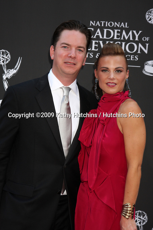 Gina Tognoni and husband