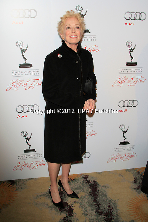 LOS ANGELES - MAR 1:  Holland Taylor arrives at the Academy of Television Arts &amp; Sciences 21st Annual Hall of Fame Ceremony at the Beverly Hills Hotel on March 1, 2012 in Beverly Hills, CA