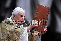 Open the Synod for Africa, Benedict XVI in the Vatican Basilica of St. Peter, October 4, 2009