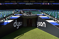 A general view of the tunnel. The Clash, Aviva Premiership match, between Bath Rugby and Leicester Tigers on April 8, 2017 at Twickenham Stadium in London, England. Photo by: Patrick Khachfe / Onside Images