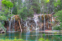 Hanging Lake was privately owned until 1910. Eventually, the land was given to the Forest Service. Now this Colorado icon is open to the public and is a popular day hike for anyone who wishes to make the 1.2 mile, 1000+ vertical feet climb to its emerald waters.