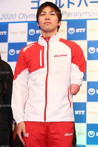 Takuro Yamada,<br /> JANUARY 26, 2015 : <br /> NTT corporation has Press conference at Hotel Okura Tokyo.<br /> NTT corporation today announced that it has entered into a partnership agreement with the Tokyo Organising Committee of the Olympic and Paralympic Games.<br /> (Photo by Shingo Ito/AFLO SPORT)