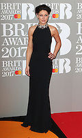 Emma Willis at The BRIT Awards 2017 at The O2, Peninsula Square, London on February 22nd 2017<br /> CAP/ROS<br /> &copy; Steve Ross/Capital Pictures /MediaPunch ***NORTH AND SOUTH AMERICAS ONLY***