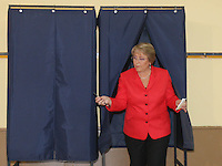 Chile President Michelle Bachelet arrives to a polling station to cast her ballot during the country's general elections , Sunday, Dec. 13, 2009. Bachelet coalition candidate Eduardo Frei was second after righ wing billionaire Sebastian Pinera.