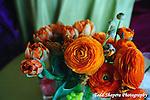 Floral arrangements, table settings at elegant  Bat Mitzvah at the 65th floor ballroom of the  Mandarin Oriental Hotel.  ..