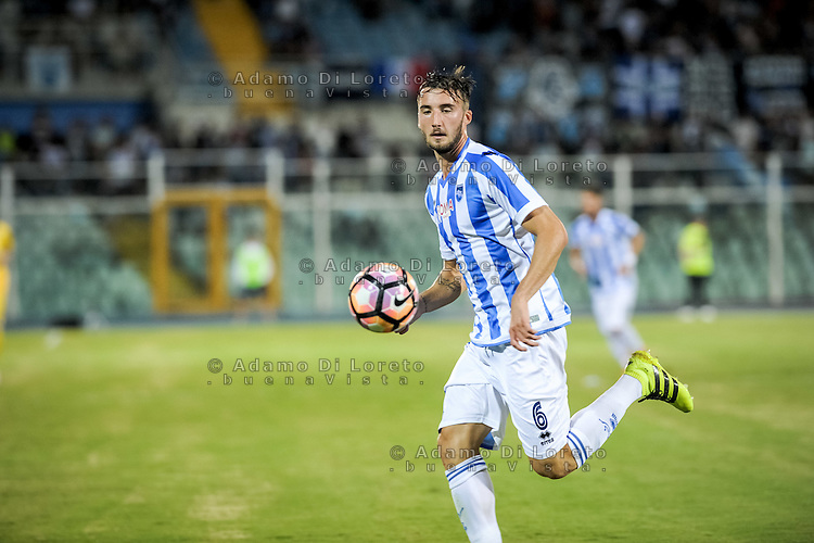 Cristante Brayan (PESCARA) during the Italian Cup - TIM CUP -match between Pescara vs Frosinone, on August 13, 2016. Photo: Adamo Di Loreto/BuenaVista*photo