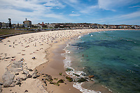 Beach and bays at Bondi, Coogee &amp; Bronte Sydney, Australia