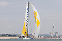 3rd August 2010 . Cowes. Isle of Wight. Artemis Challenge..Pictures of the Gaes Centros Auditivos Team, Skipper Dee Caffari (GBR)..Mandatory credit: Lloyd Images