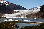 North America, USA, Alaska. Mendenhall Glacier, Juneau.