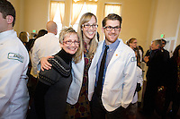 White Coat Ceremony, class of 2015. Hayle Munroe, Matthew MacKinnon.