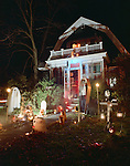 Haunted House at Halloween, Keene, NH
