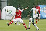 Con gol de Pérez, Santa Fe venció a Equidad y alcanzó a su rival en el segundo puesto, a un punto de Tolima.