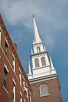 Church Steeple in Boston, Mass.