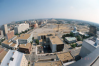 1997 June 10..Redevelopment..Macarthur Center.Downtown North (R-8)..LOOKING NORTH.FROM MAIN STREET TOWER.SUPERWIDE..NEG#.NRHA#..