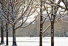 Mar. 21, 2013; South Quad after a snowfall..Photo by Matt Cashore/University of Notre Dame
