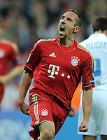 Fussball Uefa Champions League 2011/2012: FC Bayern Muenchen - Olympique Marseille