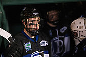 Kyle Schmidt (Bentley - 20) - The Bentley University Falcons defeated the Army West Point Black Knights 3-1 (EN) on Thursday, January 5, 2017, at Fenway Park in Boston, Massachusetts.The Bentley University Falcons defeated the Army West Point Black Knights 3-1 (EN) on Thursday, January 5, 2017, at Fenway Park in Boston, Massachusetts.