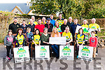 The 54321 Challenge presented a cheque to Kerry Cork Link Bus, Killarney Cardiac Respond Unit and Glow Hearts in the Beaufort Bar last Sunday.