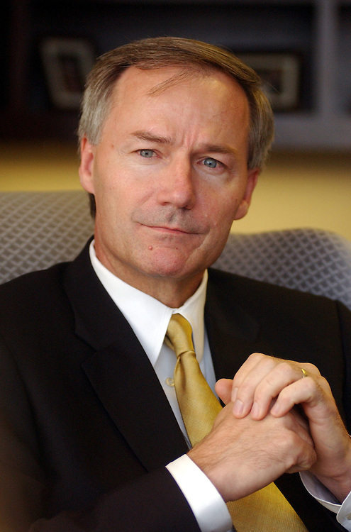 2Hutchinson081401 - Asa Hutchinson, new chairman of the Drug Enforcement Administration.
