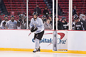 Kyle McKenzie (PC - 5) leads the Friars onto the Fenway ice. - The Providence College Friars practiced at Fenway on Friday, January 6, 2017, in Boston, Massachusetts.